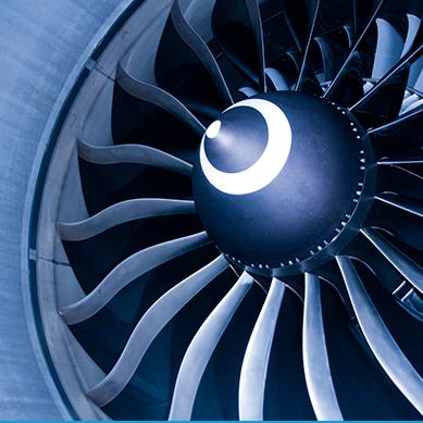Nikl se používá k výrobě prvků tryskových motorů
