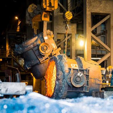 Materials used in metallurgy are required to have good mechanical properties in high temperatures