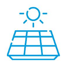 vakuová metalizace, solární panely