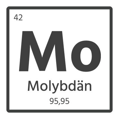 Molybdän element