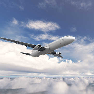 Titanium and its alloys are used to manufacture aircraft structural components