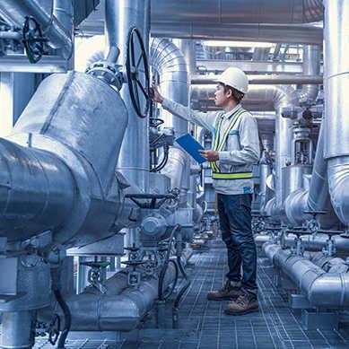 Somit sind Nickel-, Titan- und Molybdänlegierungen die bestimmenden Materialien im chemischen Sektor.