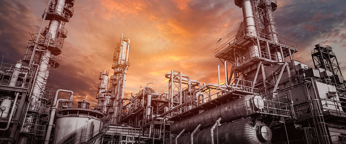 Petrochemical industry - nickel and its alloys, titanium, molybdenum and cupronickel
